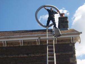 installing flue liners